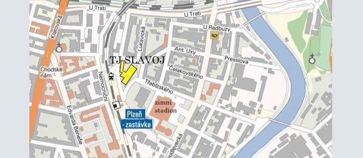 Sídlo TJ Slavoj Plzeň - Třebízského 12